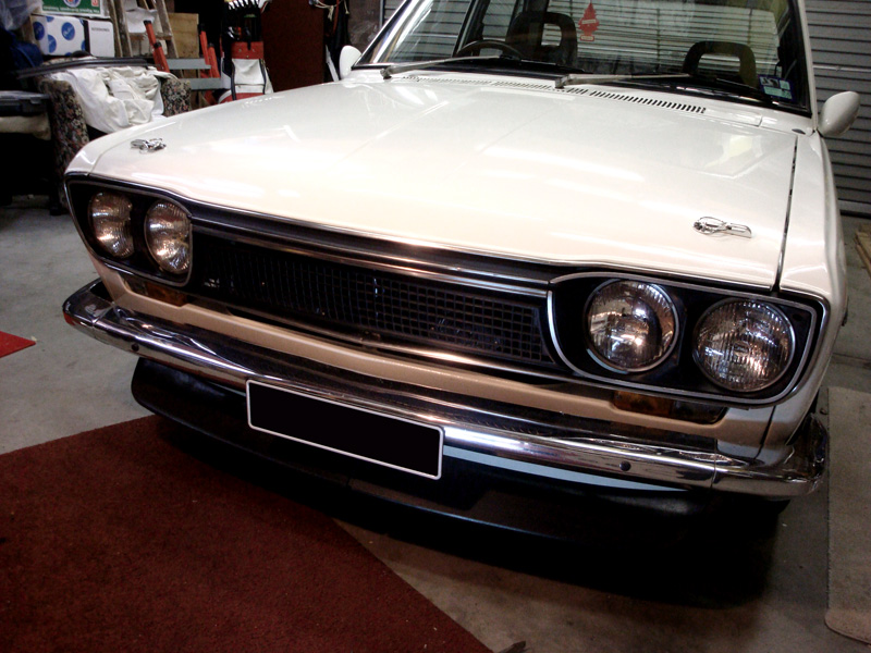 73 grille, 1969 Datsun 510