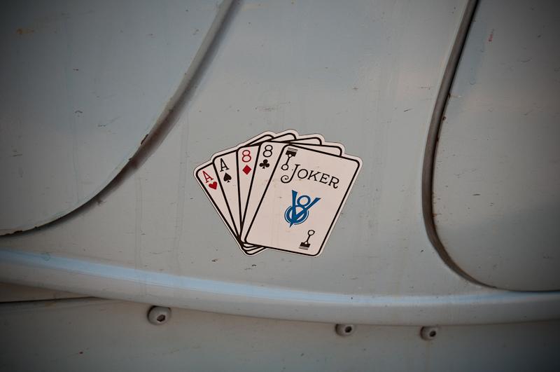 Aces & Eights, Hot Rod Car Club, logo