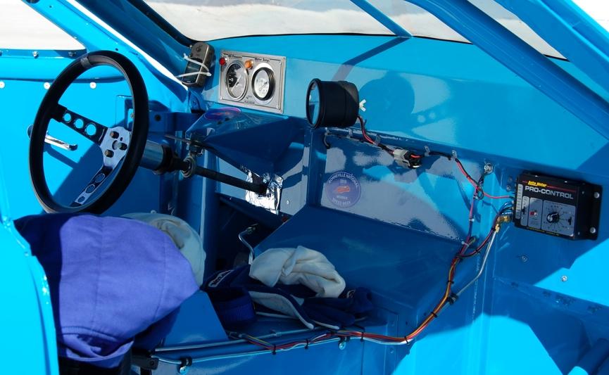 Studebaker, interior, race car, 1953 Studebaker