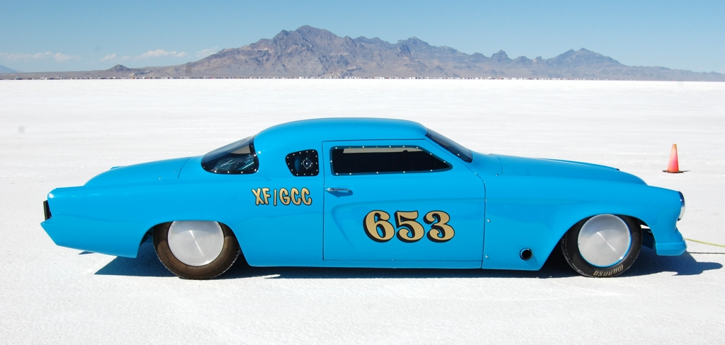land speed racing, 1953 Studebaker, Bonneville, salt flats