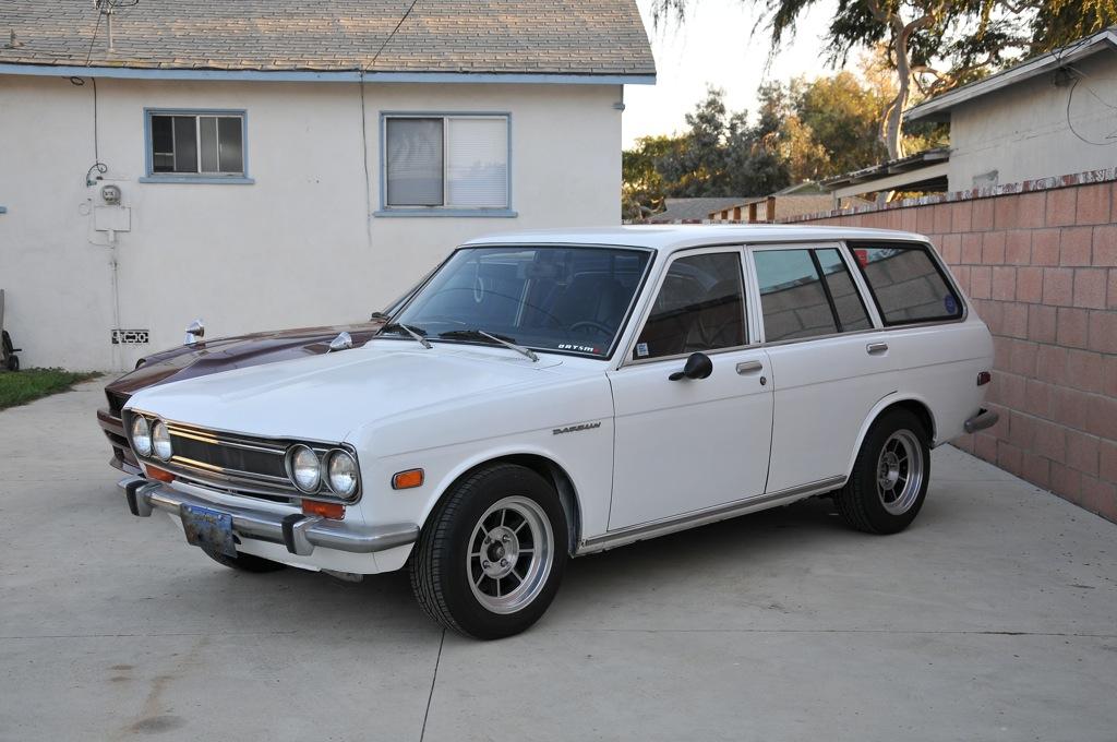 datsun 510, datsun wagon, custom datsun