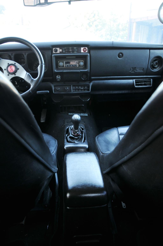 Datsun 510 wagon interior