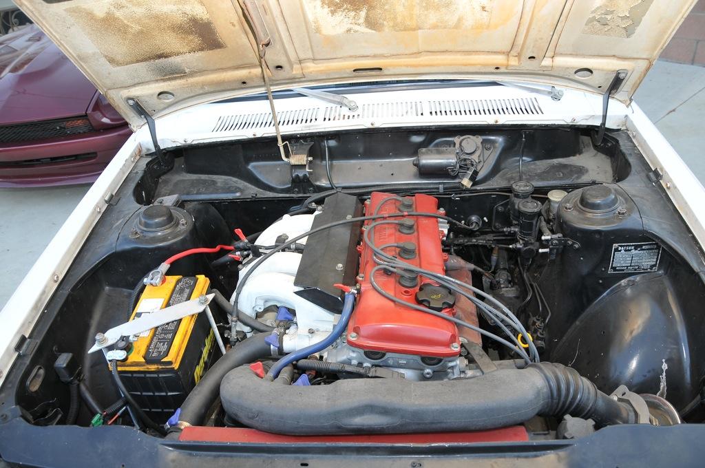 Datsun 510, Datsun wagon,Nissan KA24DE