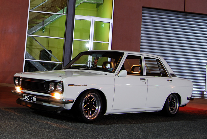 Datsun 510, 1969 Datsun, Work Ewing wheels, Build-Threads