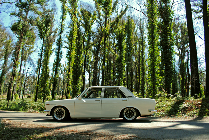 Datsun 510, touge run