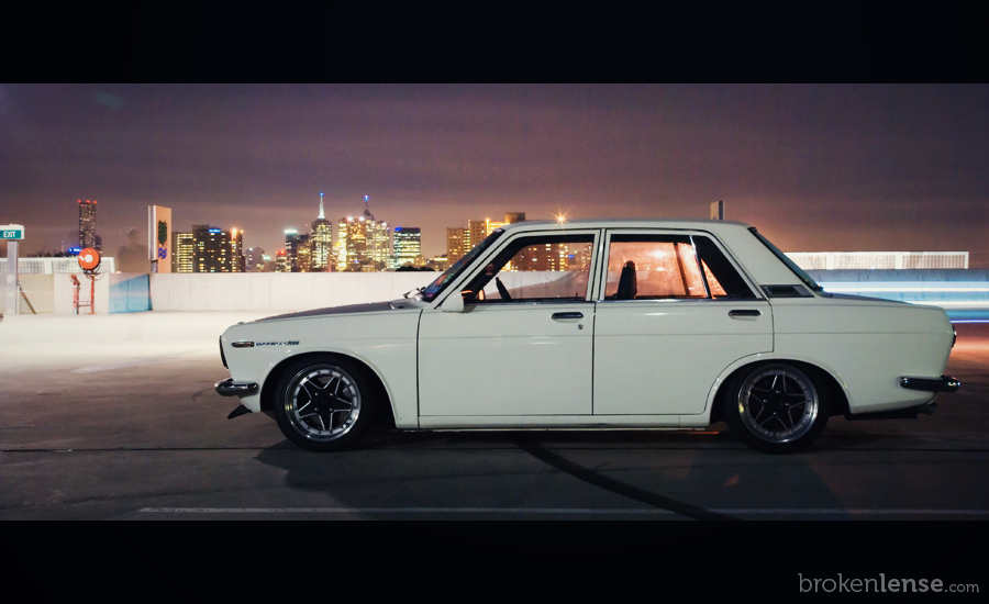 Datsun 510, photo by brokenlense.com, Australia