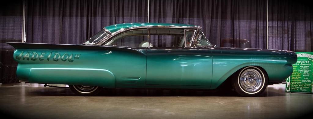 custom car, 2010 Motorama, Jade Idol 2 by Gene Winfield