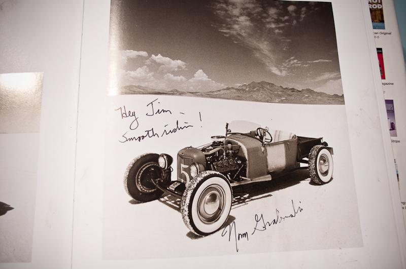 Jim Baugh's, hot rod, roadster