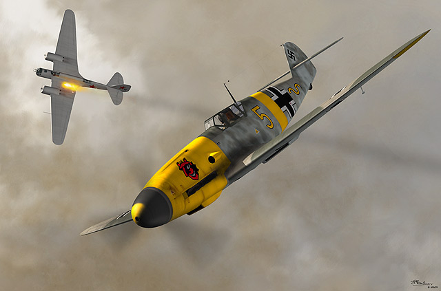 ME-109-F2-S, Messerschmitt, German fighter