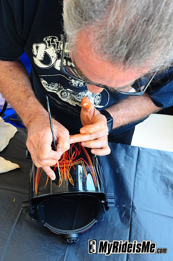 Pinstriping,custom, dave Whittle
