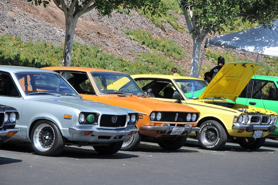 sevenstock 2010, mazda, rx3, savanna, rotary engine