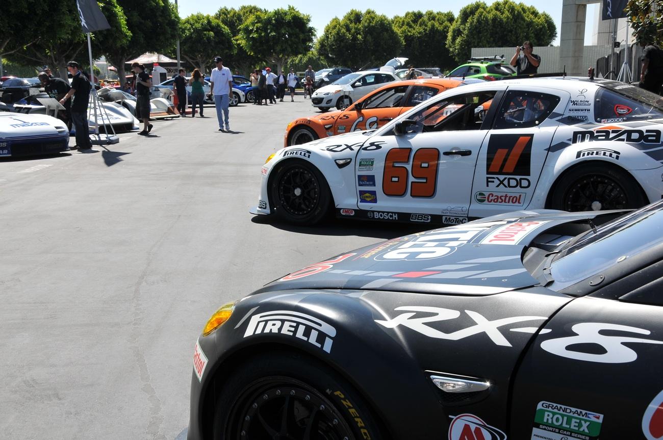 sevenstock 2010,mazda, race cars, rotary engine