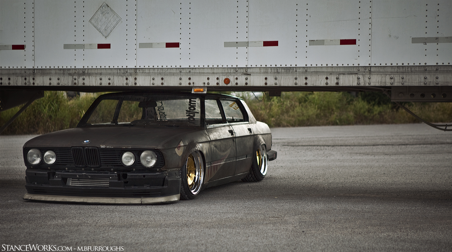 Rat Rod BMW from Stanceworks