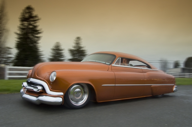 buick,1952 Buick,custom car,lead sled