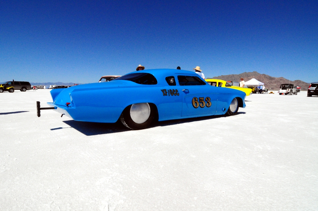 land speed racing, 1953 Studebaker, salt flats