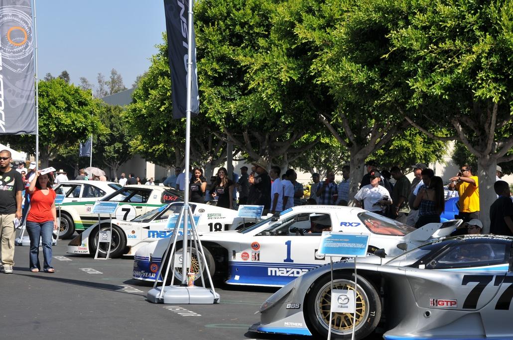 sevenstock 2010, mazda, rotary engine, race cars