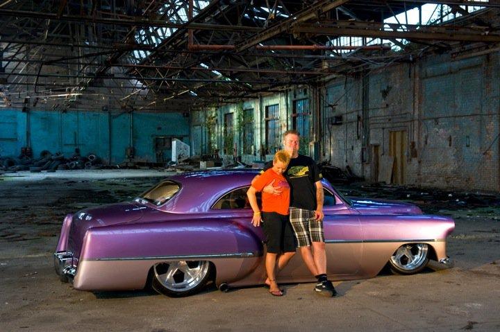 custom car, 54 chevy,evolution