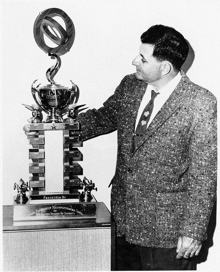 SEMA Trophy, 1963, Ed Iskendarian