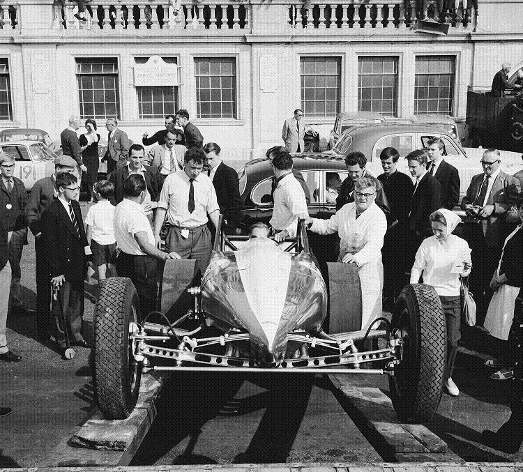 Allard, Chrysler Hemi, dragster, nostalgia dragster