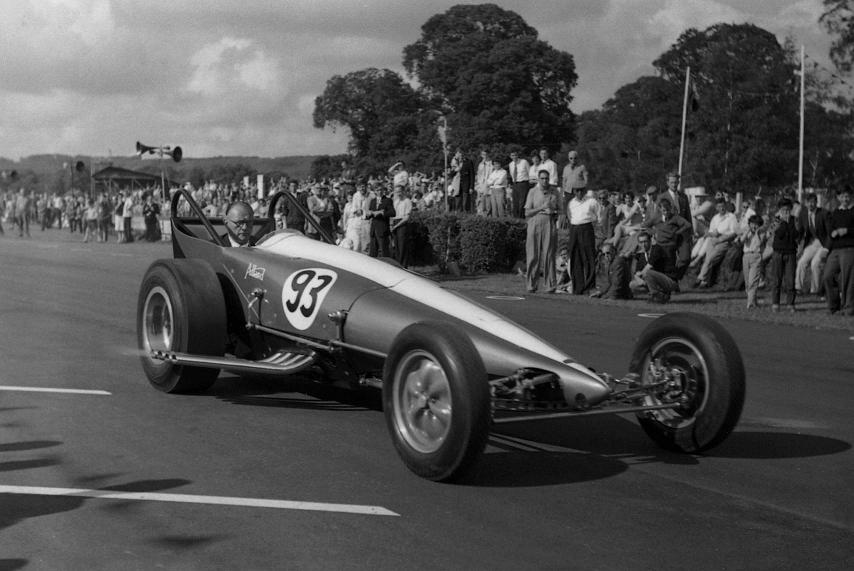 Sydney Allard, Goodwood, Speed Festival, 1962, Bernard Gudge, cacklefest