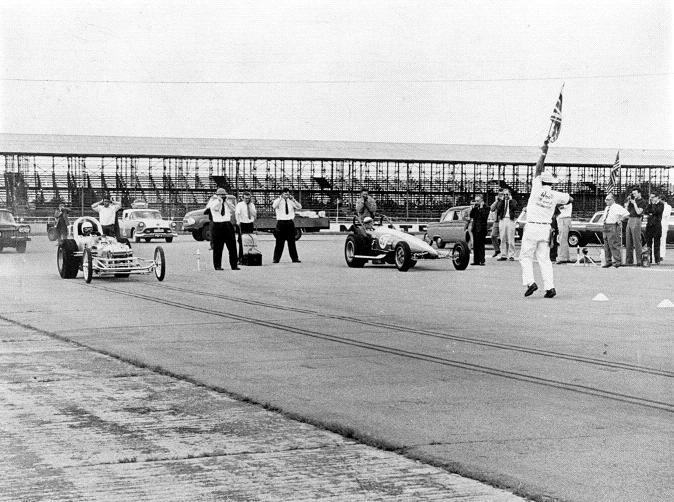 Sydney Allard, Chrysler Hemi, Nitro dragster, Mooneyes, Silverstone