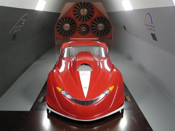 race tech, wind tunnel, aerodynamics, Pro-Mod