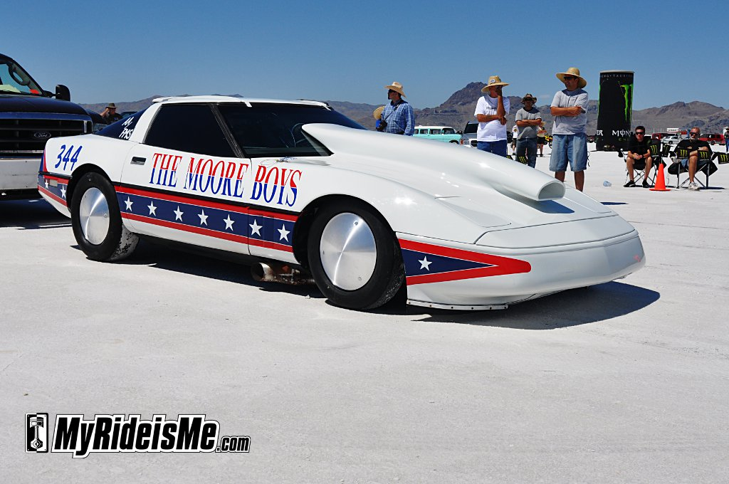 Bonneville Salt Flats Baddest Race Cars Fastest Corvette