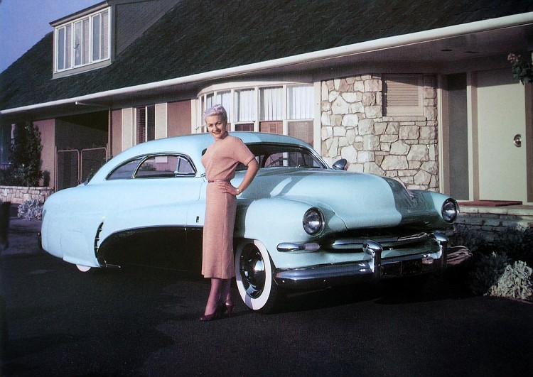 Bob Hirohata,barris, 1951 Mercury,Custom, kustom, club coupe
