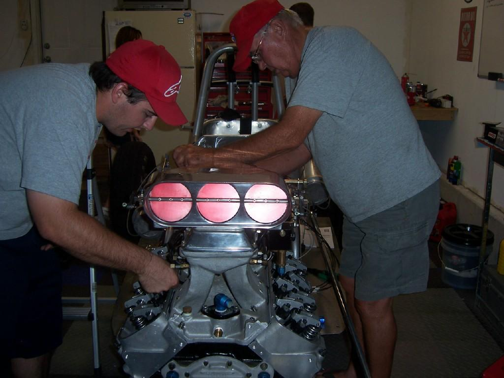 Larry Volk, 200 MPH Club, model a roadster, big block chevy, racing data acquisition systems
