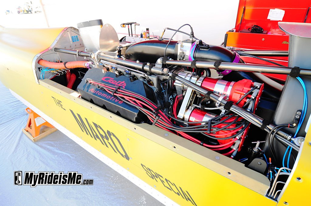 blown streamliner, bonneville blown streamliner, salt flats racing streamliner