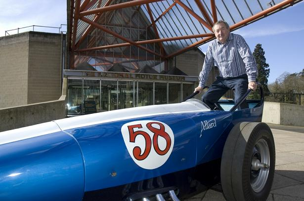 Nick Mason, Allard dragster, Hot Rod Museum