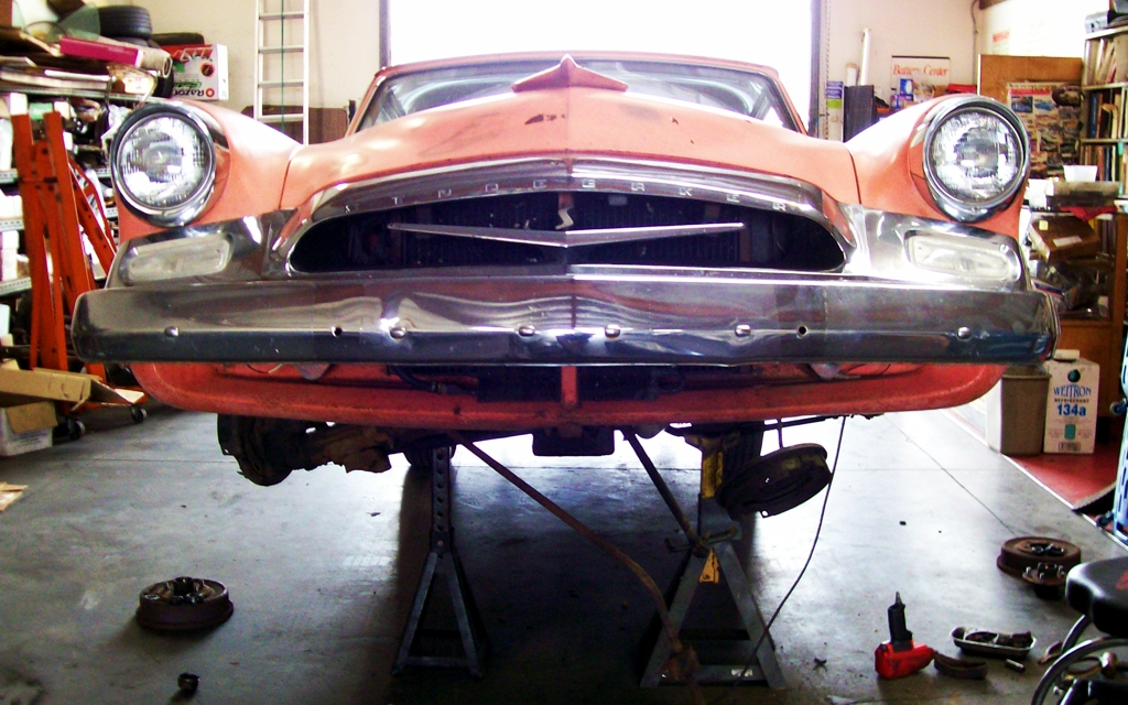 Studebaker Champion Suspension Rebuild