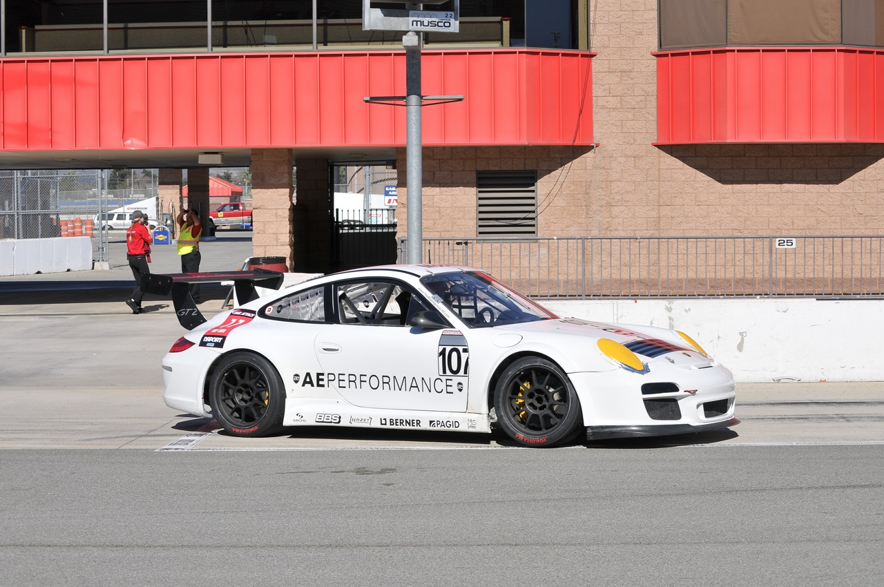2010 Redline Time Attack, AE Performance, Porsche GT2, grid
