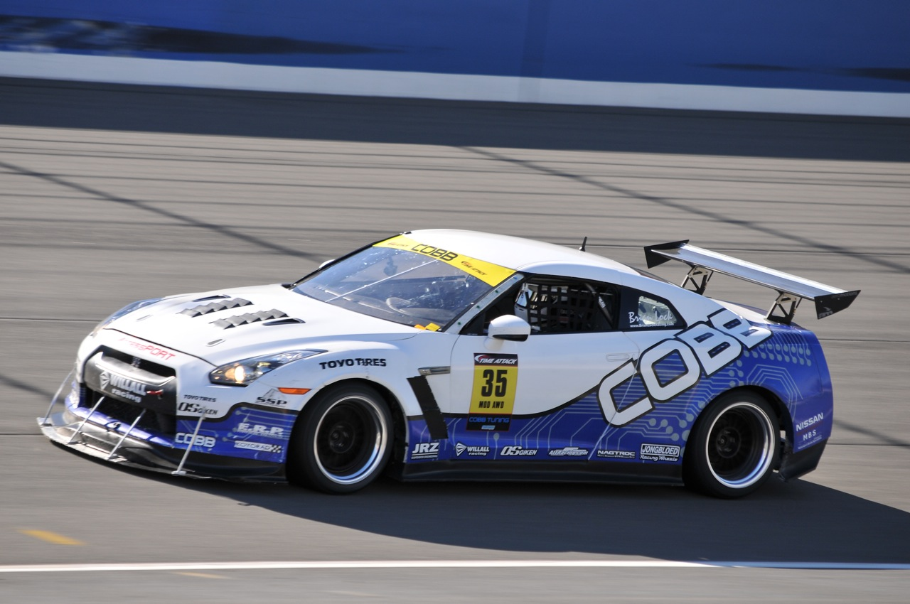 2010 Redline Time Attack, Time Attack,  Cobb Tuning, Nissan R35 GTR, Brian Lock