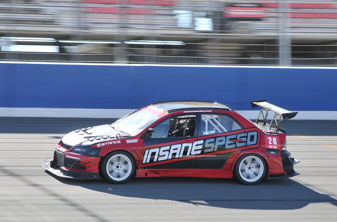 2010 Redline Time Attack,  Time Attack, Insane Speed, Mitsubishi Evo, Trent Choi