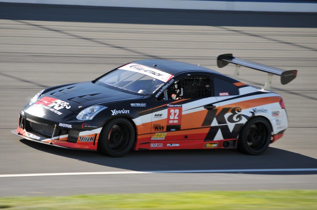 2010 Redline Time Attack, Time Attack,  K&N, Nissan, Infiniti G35, VQ35
