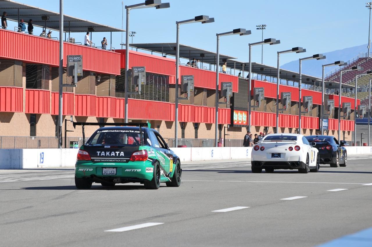 2010 Redline Time Attack, Time Attack,  Autoclub Speedway Takata STI, GTR, grid