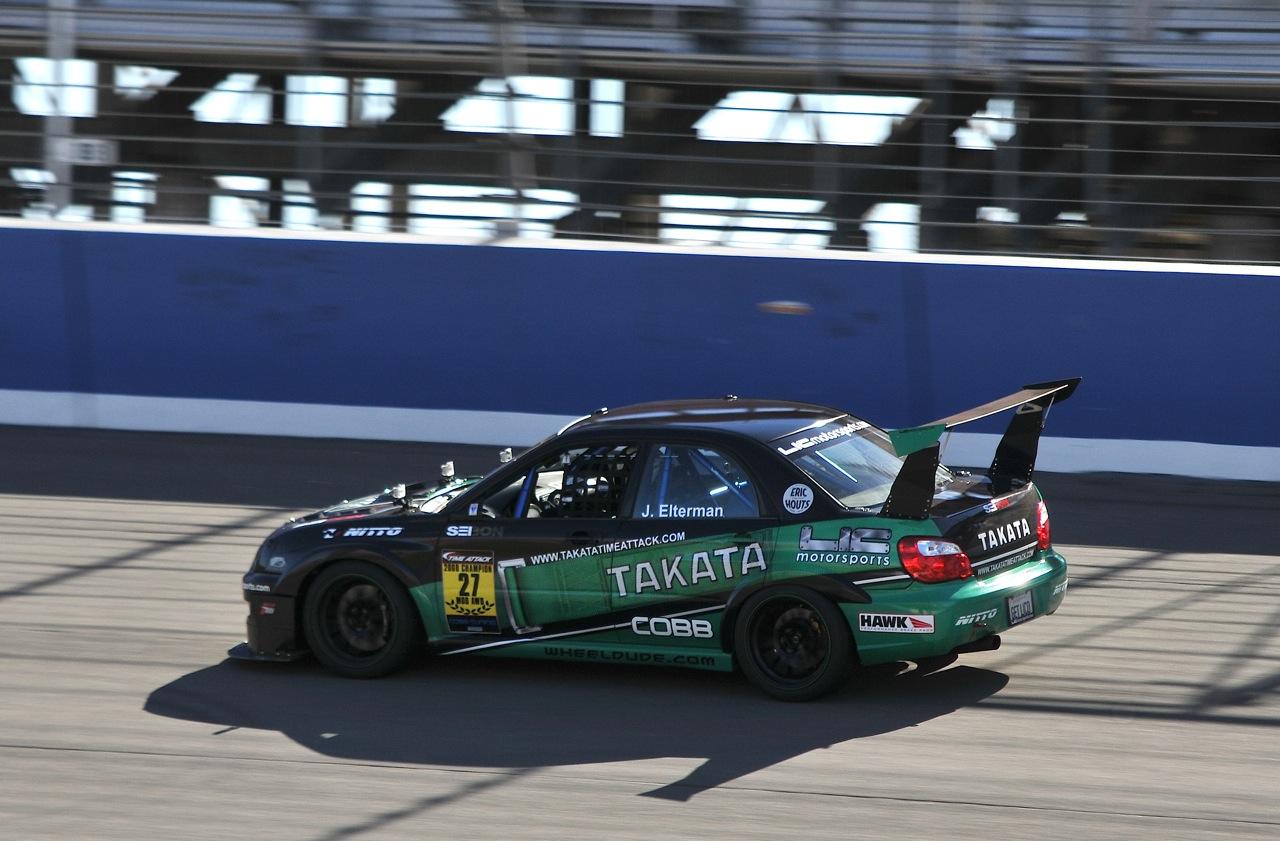 2010 Redline Time Attack,  Time Attack, Takata, LIC Motorsports, Subaru STI, James Elterman