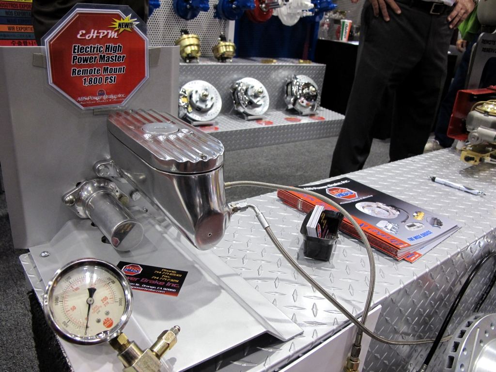 SEMA 2010, SEMA car show, sema show pictures, brake master cylinder, abs brake systems