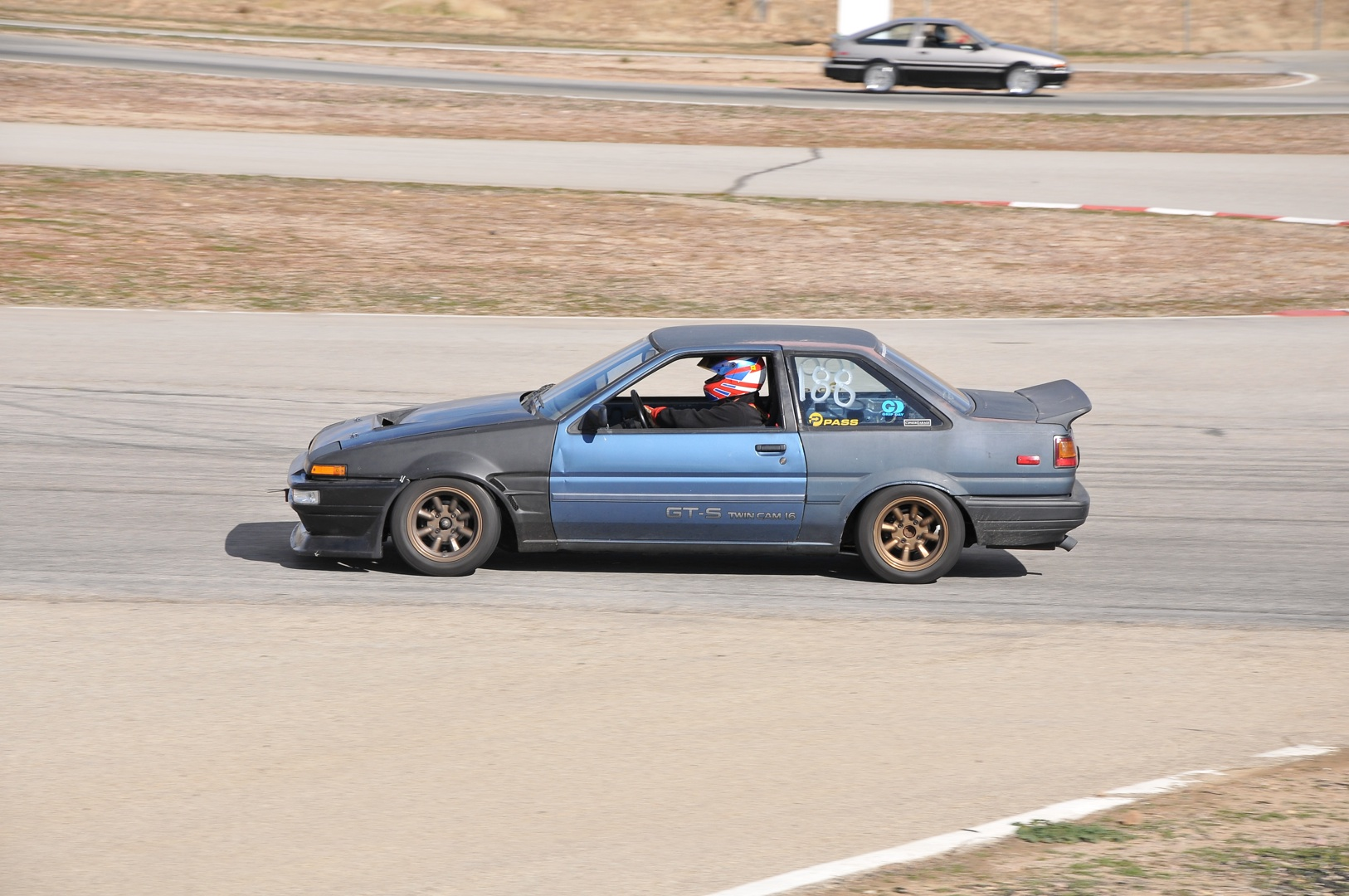 AE86, coupe, kouki,track day, grip day, watanabe