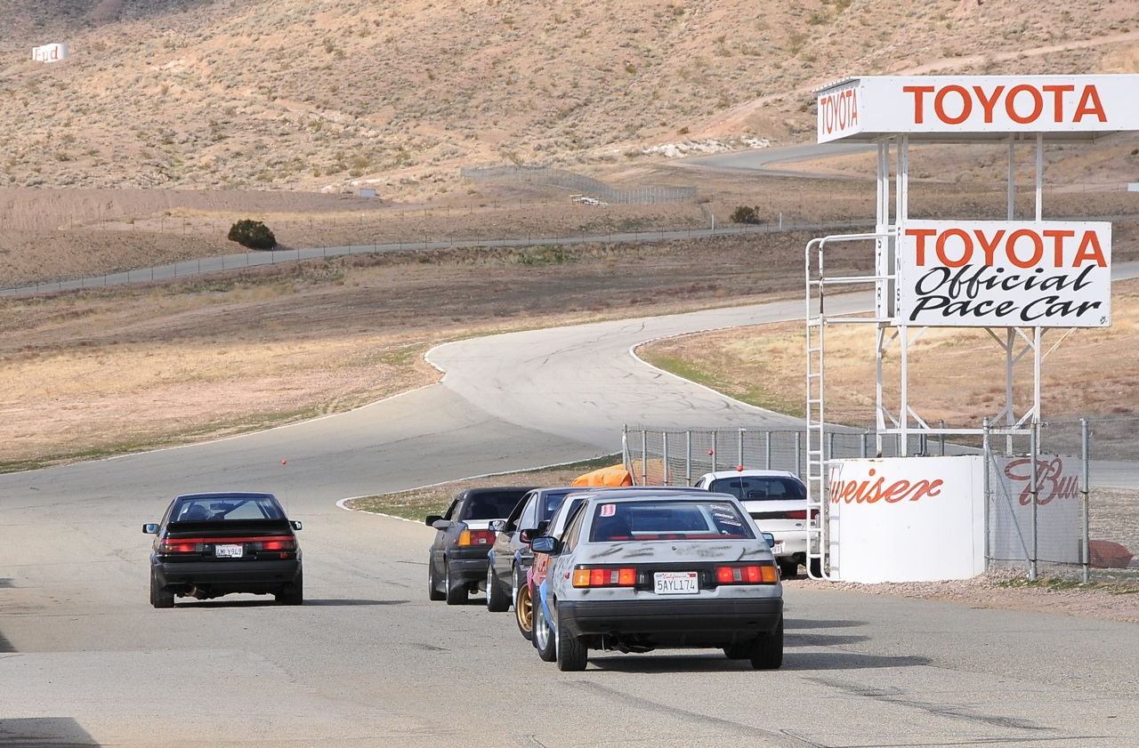 AE86, track day, grip day, Willowsprings, Toyota grid