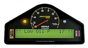 race car data acquisition, Autometer Data logger Interface