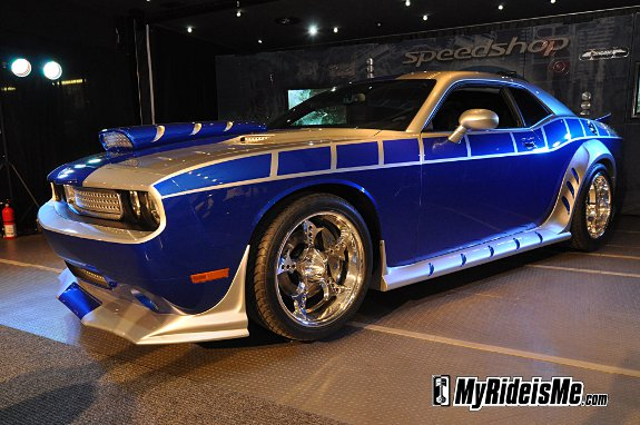 Rich Evans, Challenger, ugly design,SEMA 2010, car show car