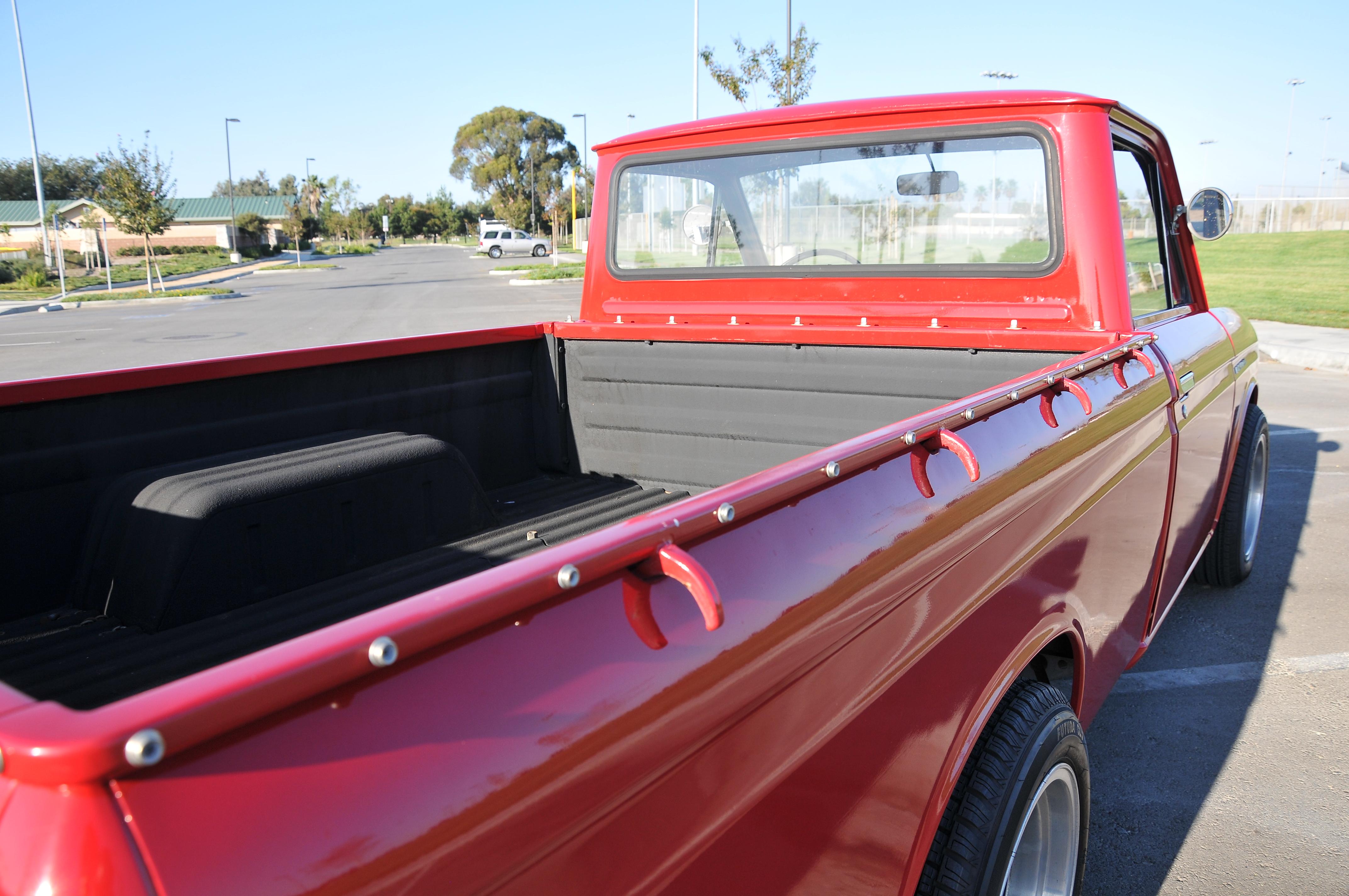 1969 Datsun 521 truck, bed hooks,Japanese Classic truck