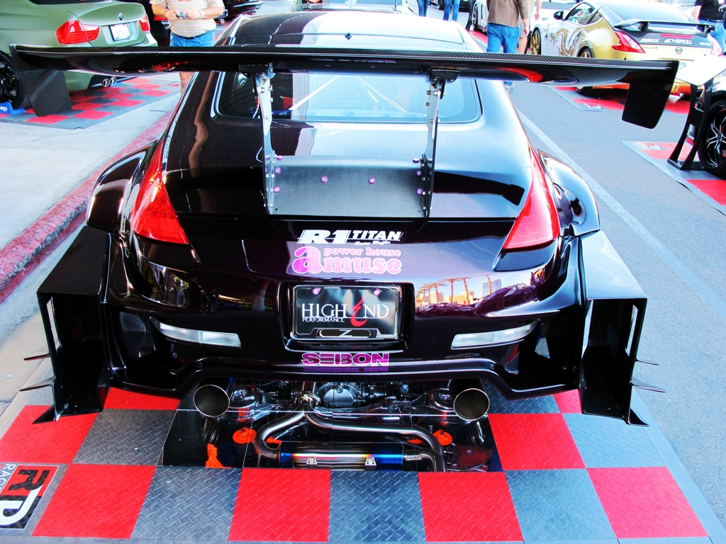 SEMA 2010, SEMA car show, sema show pictures, drift customization