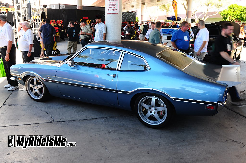 sema 2010, car show car, Ford Maverick, custom car