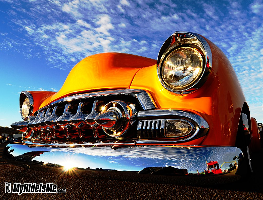 1951 Chevy custom, Kustom chevy, 2010 Goodguys Scottsdale, goodguys car shows