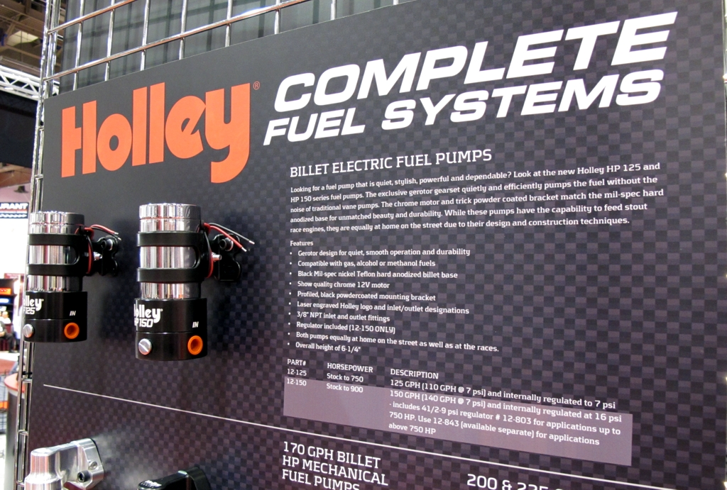 SEMA 2010, SEMA car show, sema show pictures, holley, holley fuel pump