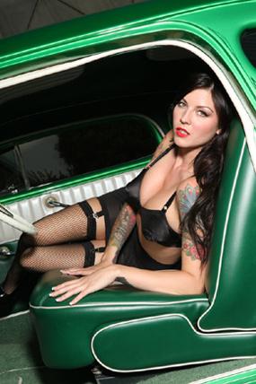 pin up girl tattoos, hot rod pinup, pinup models