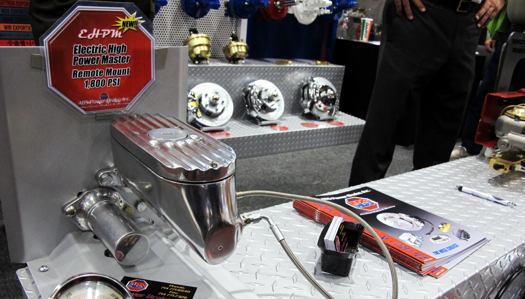 Master Cylinder, Electric High Power Master Cylinder, Performance Part Review, Brakes, SEMA 2010